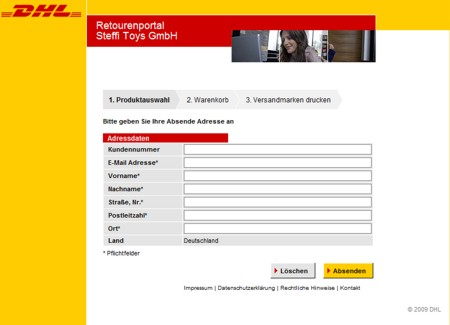 dhl versenden tracking support. Black Bedroom Furniture Sets. Home Design Ideas