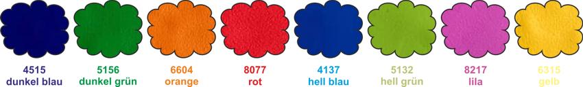 Kunstlederfarben Softbausteine Polstermöbel
