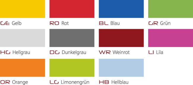 Ultraflex 4 Schülerstuhl Ultraflex Farben